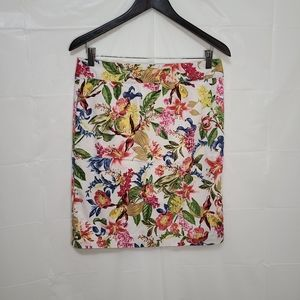 Jessica Floral Pencil Skirt